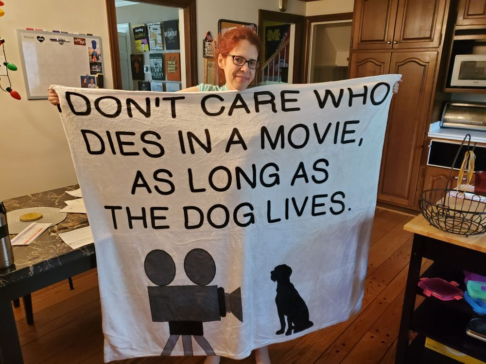Theater blanket